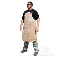 Apron for Dog Training Made of Strong Leather