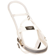 Nylon Harness White for Assistance Dog ➫