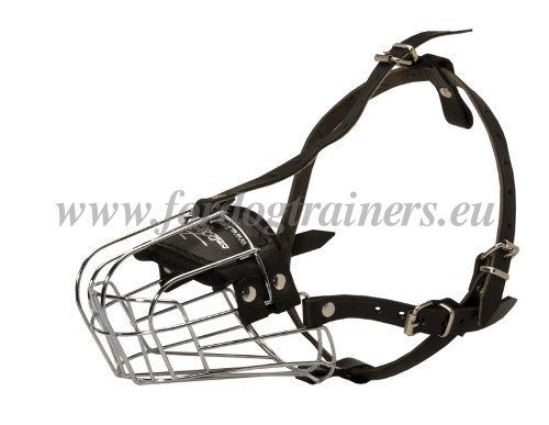 Wire Basket Muzzle for Large Dog