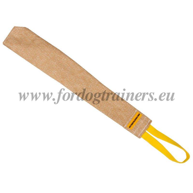 Dog Biting Rugs: Jute Bite Rag For Dog Prey Training [TE11#1057 Riporto Da