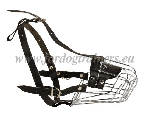 Basket Muzzle for Dogs Strong Wire