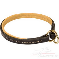 Choke Leather Collar