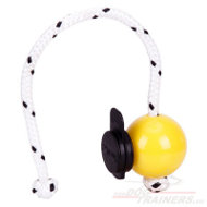 Magnet Dog Ball Yellow with Multi power Clip