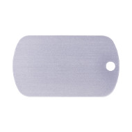Visible Aluminium ID Tag for Dog ⬈
