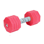 "Hardwood Dumbbell ""Red Workout Dumbbell"" for Dogs"