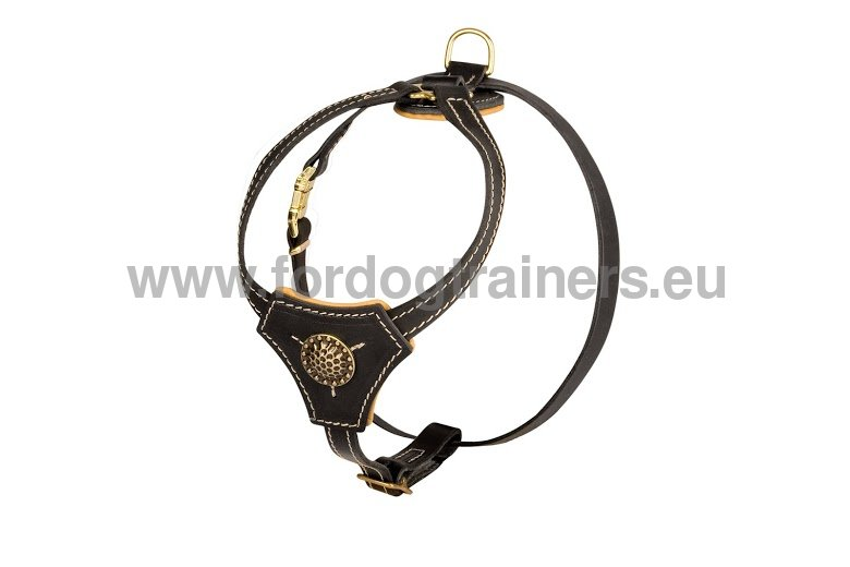 luxurious royal harness for small doggies  u2654  h2r  1057