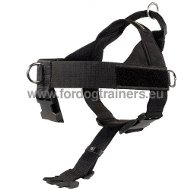 Tracking Harness in Nylon for Your Dog. K9 Best