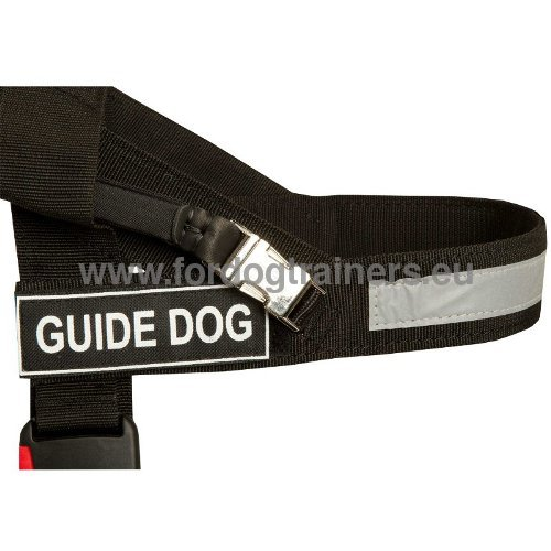 Nylon Harness for Assistance Dogs