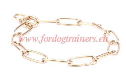 Handcrafted Slip Collar for Dog Training