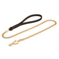 Chain Leash for Small Dogs, Luxury Chain