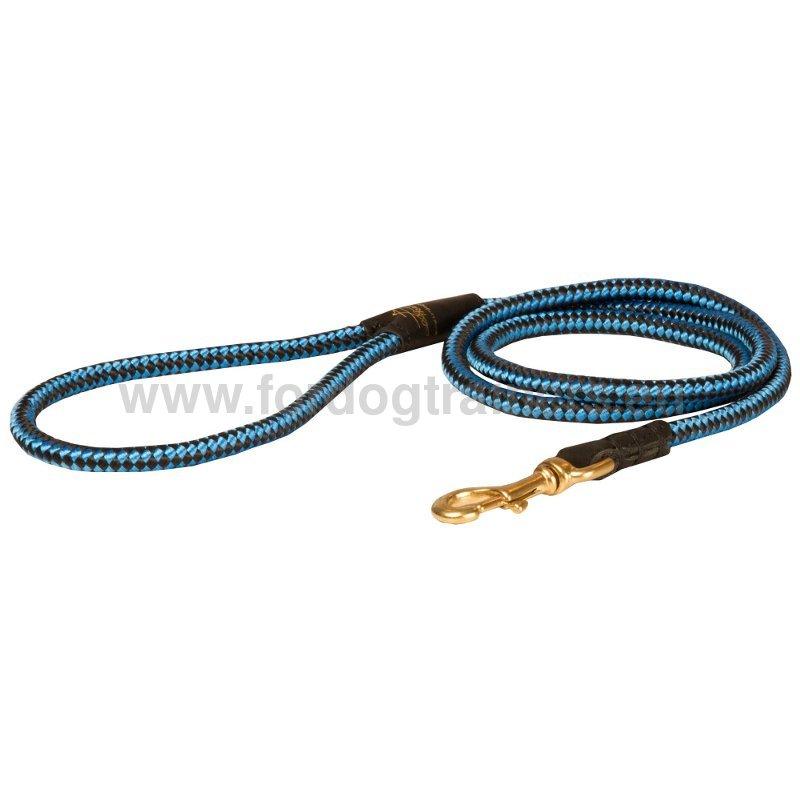 Braided nylon leash for training l20b 1057 guinzaglio in - Laisse corde gros chien ...