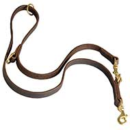 All-purpose Leather Dog Lead ☛