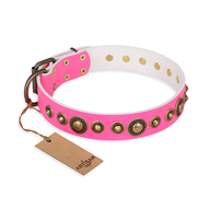 "Pink Dog Collar Exclusive ""Pink Gloss"" FDT Artisan"