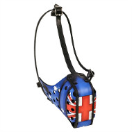 NEW Soft Dog Muzzle with Australian Flag ❍