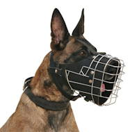 Fully Padded Working Dog Wire Muzzle ♯