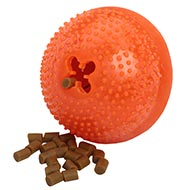 """Fruit"" Dog Toy with ""Stone"" - Big Dog Treat Dispenser"