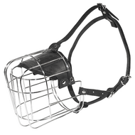 Wire Basket Dog Muzzle for Big Size Dog Breeds