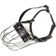 Big Size Dogs Wire Muzzle ∞