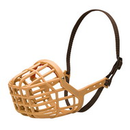 Plastic Basket Dog Muzzle | Winter Dog Muzzle❆