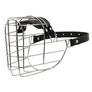 Dog Muzzle Rust-resistant | Basket Muzzle for Doberman ⚑