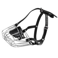 Wire Basket Dog Muzzle for Small Dogs and French Bulldog