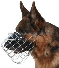 German Shepherd Perfect Wire Dog Muzzle