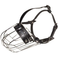 Wire Basket Dog Muzzle for Big Dogs