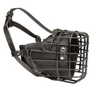 Wire Basket Dog Muzzle for Training | Wire Muzzle Fordogtrainers