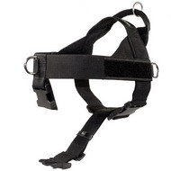 Tracking Harness in Nylon for Your Dog. K9 Best Harness!