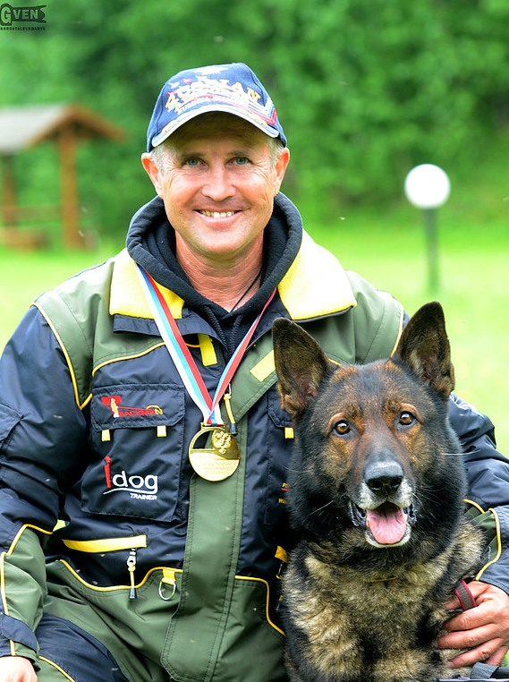 Professional Dog Trainer and Champion Zhirkevich Sergey