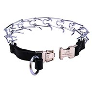 FORDOGTRAINERS Chromed Pinch Collar