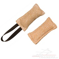 Jute Tug for Puppy Biting | Pocket Dog Toy