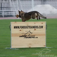 Hurdle from Wood for Agility and Schutzhund