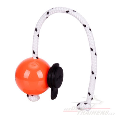 Plastic Ball for Dog Top-Matic Fun with Multi Power Clip