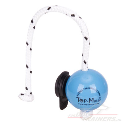 Top-Matic Soft Dog Ball Toy with Multi Power Clip
