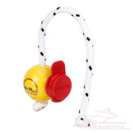 Magnet Dog Ball Yellow with Maxi Power Clip