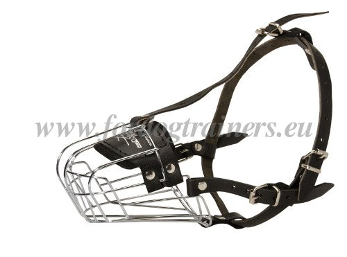 Cage Muzzle for Large Dogs