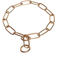 Dog Chain Collar of Brass from Herm Sprenger