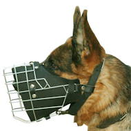 Wire Muzzle Padded for GSD Military