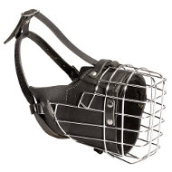 Wire Muzzle for Working Dog | Wire Basket Muzzle ⚑
